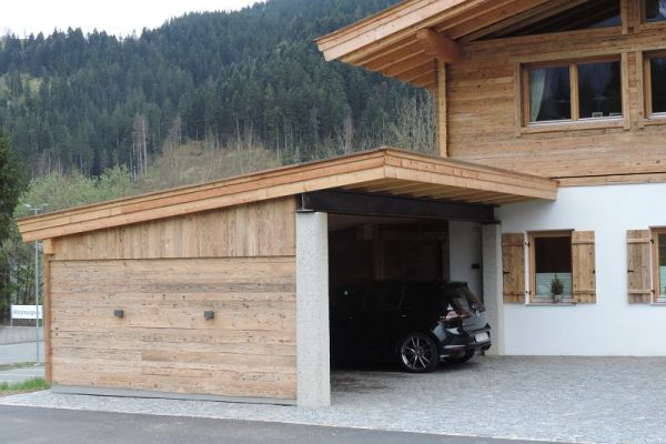 Altholz-Carport